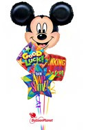 Mickey MouseBack to School Balloon Bouquet (4 Balloons) delivery in Oklahoma City