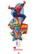 SpidermanBack to School Balloon Bouquet (4 Balloons) delivery in Oklahoma City