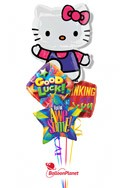 Hello KittyBack to School Balloon Bouquet (4 Balloons) delivery in Wheatridge