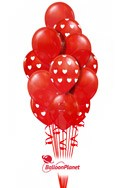99 Red BalloonsValentine's Balloon Bouquets (99 Balloons) delivery in Washington
