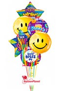 Boss's Day Balloon Bouquet (6 Balloons) delivered in Irving