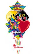 Congratulations Balloon Bouquet (8 Balloons) delivered in Sherman Oaks