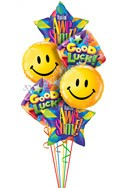 Good Luck Smiles Balloon Bouquet (6 Balloons) delivered in Queens