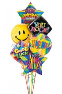 Awesome Welcome  Back to School Balloon Bouquet (6 Balloons) delivery in San Francisco