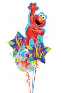 Elmo Back to School Balloon Bouquet (4 Balloons) delivery in San Francisco
