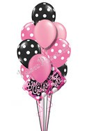 Sweet Sixteen Birthday Balloon Bouquet (16 Balloons) delivered in Corpus Christi