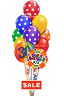 Custom Name Polka Dots Balloon Bouquet (12 Balloons) delivered in Garland