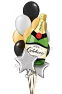 Elegant Celebration Anniversary Bubbles Balloon Bouquet (13 Balloons) delivered in East Meadow