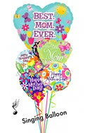 Mother's Day Singing Heart Assortment Balloon Bouquet (5 Balloons) delivery in Philadelphia