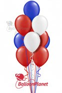 PatrioticBalloon Salute (17 Balloons) delivery in Hartford