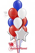 PatrioticBalloon Salute (19 Balloons) delivery in Hartford