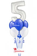 Thanks for Working Here!Career Anniversary Balloon BouquetSelect Your Colors (7 Balloons) delivery in Tampa