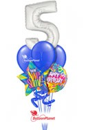 Thanks for Working Here!Career Anniversary Balloon BouquetSelect Your Colors (6 Balloons) delivery in Tampa