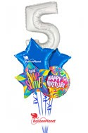 Thanks for Working Here!Career Anniversary Balloon BouquetSelect Your Colors (5 Balloons) delivery in Tampa