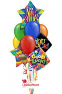 You RockBack to School Balloon Bouquet (10 Balloons) delivery in East Meadow