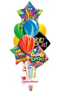 You're AwesomeBack to School Balloon Bouquet (10 Balloons) delivery in East Meadow