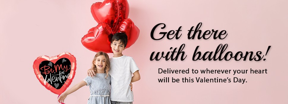 Valentine's Day  Balloon Bouquets Delivery by BalloonPlanet.com