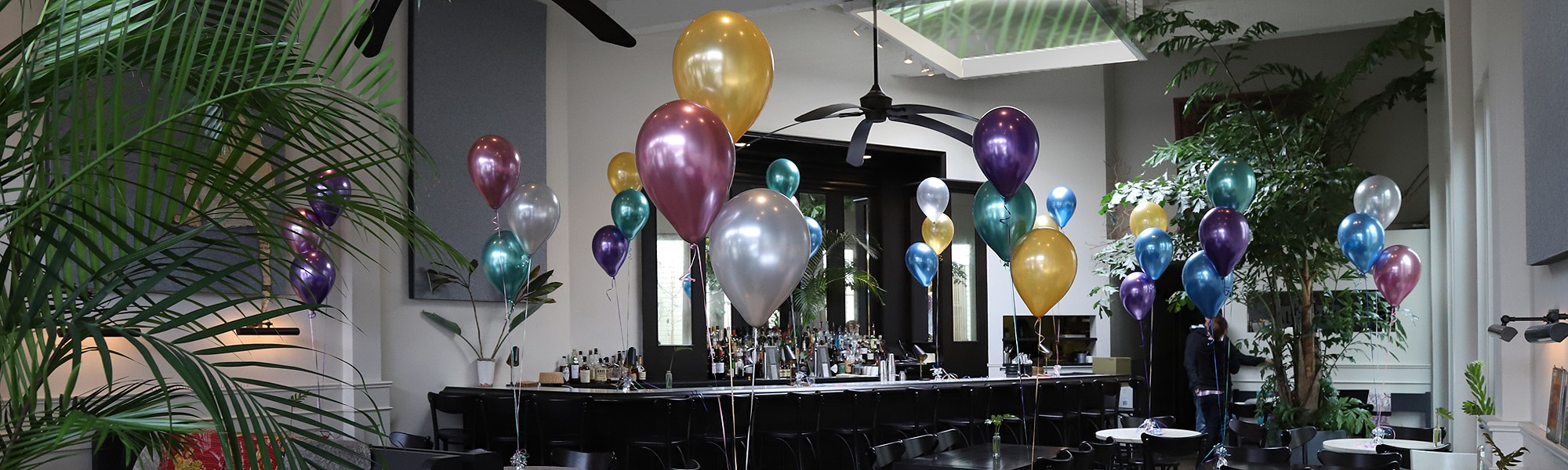 Centerpieces - Helium - Professionally Arranged and Hand Delivered by BalloonPlanet.com