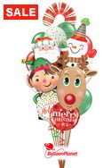 Promo Christmas Bouquet Balloon Bouquet