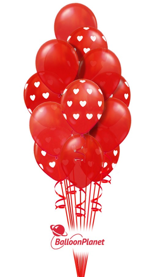 99 Red Balloons Valentineu0027s Balloon Bouquets (99 Balloons) Item  VDAY 1801$249.00 USD To Order Or For Pricing And Availability Enter  Delivery Date And ...