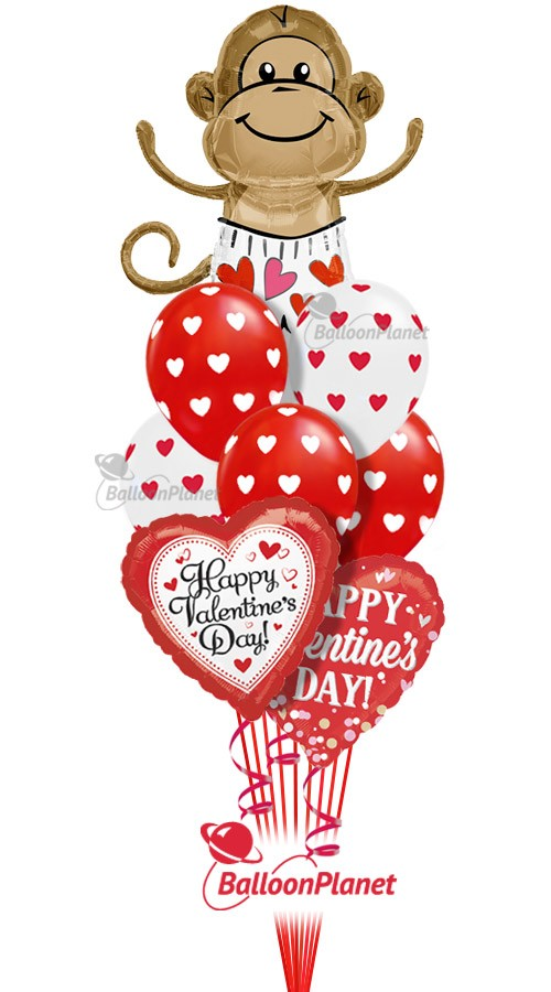 Valentineu0027s Balloon Bouquet (9 Balloons) Item VDAY 1812$55.95 USD To Order  Or For Pricing And Availability Enter Delivery Date And Location.