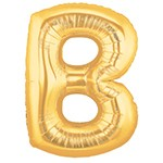 Letter B GoldBalloon