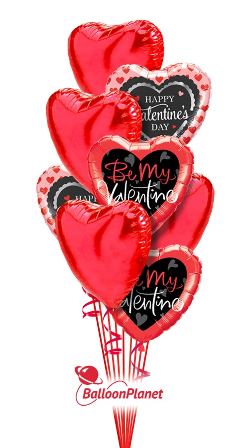 Valentine S Day 2019 Balloon Bouquets Delivery By Balloonplanet Com