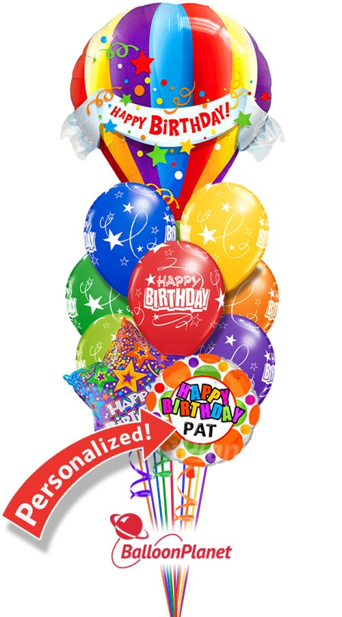 """PA 20 x 60TH BIRTHDAY BLUE MIX 12/"""" HELIUM OR AIRFILL BALLOONS"""