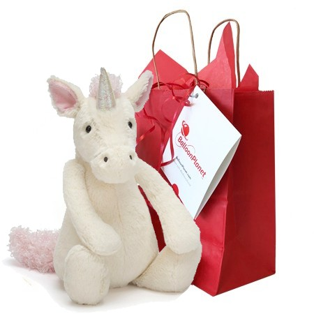 Bashful Unicorn (Jellycat of the Week)