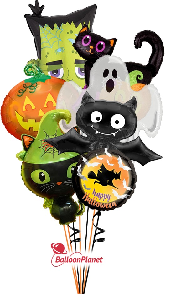 SALE - Mystery SelectionHalloween Bouquet (9 Balloons)