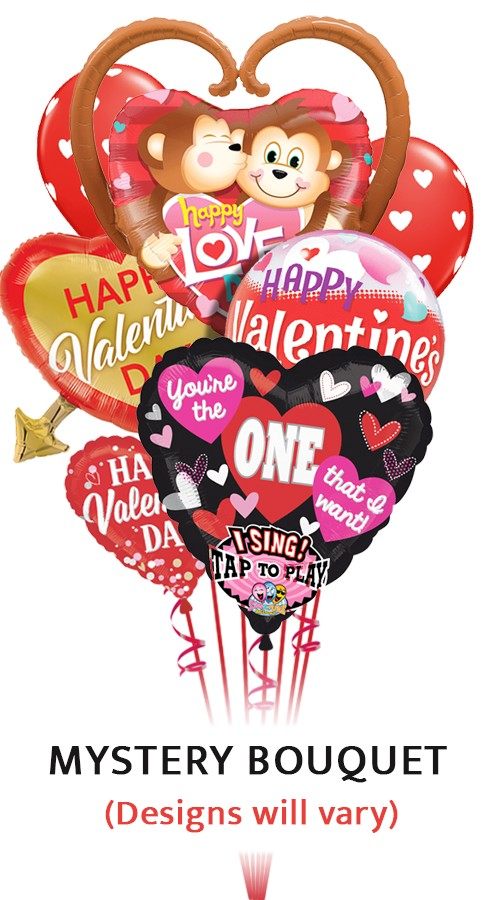 SALE! Valentine's MadnessMystery Balloon Bouquet (11 Balloons)