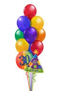 Personalized Balloon Bouquet (14 Balloons) delivered in Plano
