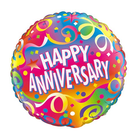 Anniversary Balloon (18in Mylar)