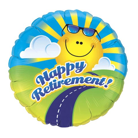 Retirement Balloon (Design may vary)
