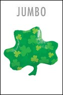 Shamrock Balloon  (18in Mylar)