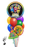 Singing Trio Balloon Bouquet (9 Balloons) delivered in Oklahoma City