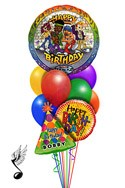 Singing Hip Hop Balloon Bouquet (9 Balloons) delivered in Las Vegas