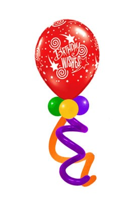 Birthday 16in (Collar Type 5 w/HF) (Price Per Balloon)