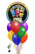 Singing Trio Balloon Bouquet (9 Balloons) delivered in New Orleans