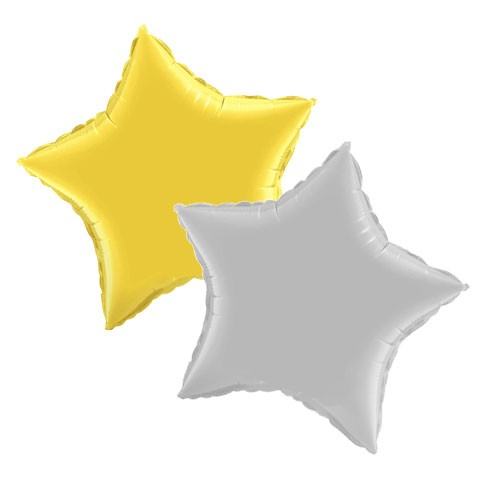 Jumbo Star Balloon (36in Mylar)