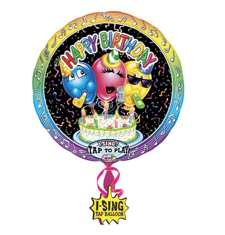 Singing Balloon (Classic Birthday)