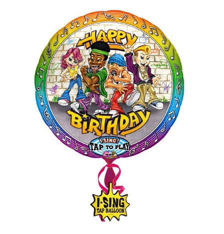 Singing Balloon (Hip Hop Birthday)