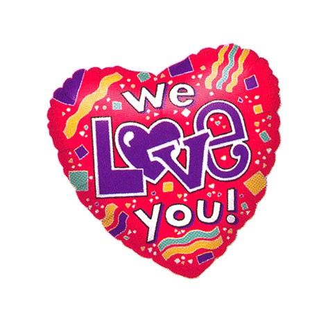 We Love You (Designs vary)