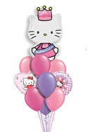 Hello Kitty Balloon Bouquet (11 Balloons) delivered in Santa Ana