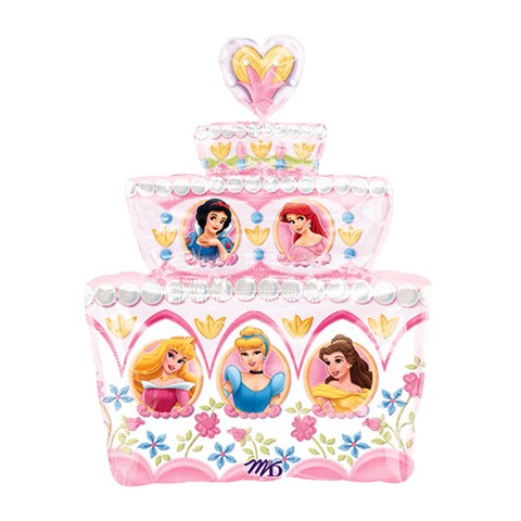 Birthday Cake Delivery On Balloon Disney Princess By