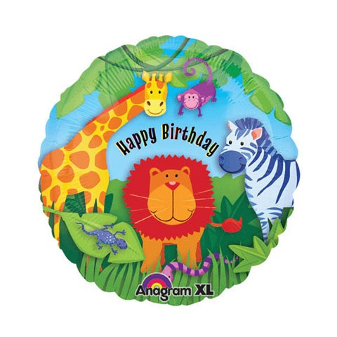 Birthday Balloon (Wild Kingdom Birthday)