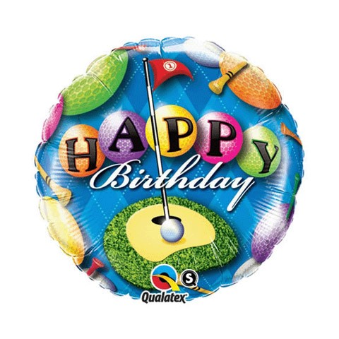 Birthday Balloon (Golf Birthday)