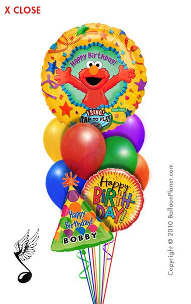 happy birthday elmo pics. (Elmo singing Happy Birthday)