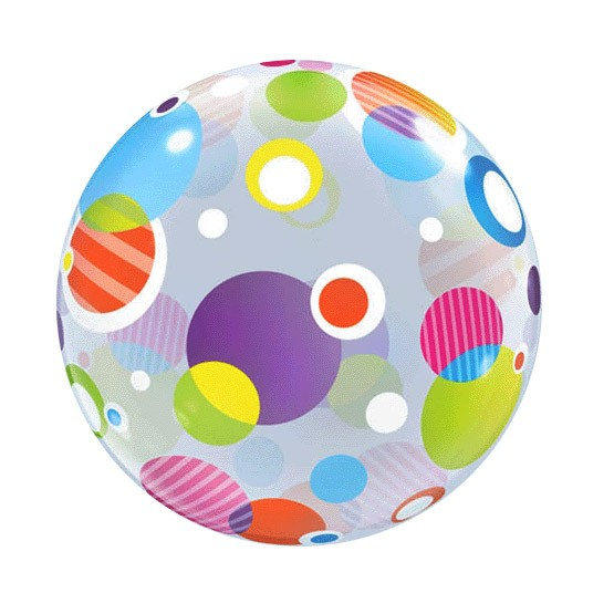 Bubble Balloon (Polka Dots)