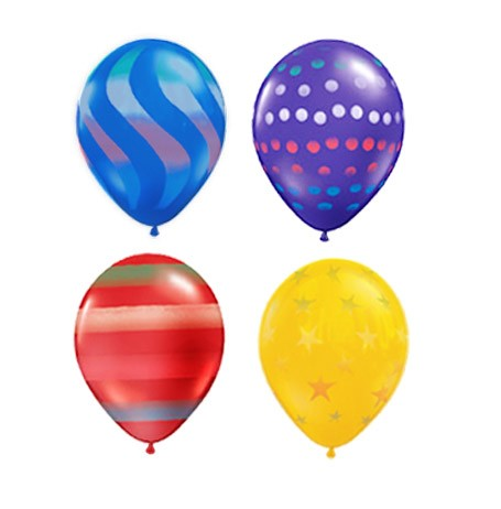 Airspray 16in (Jewel Tone w/Hi-Float) (Price Per Balloon)